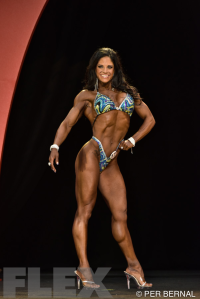 Julie Mayer - Figure - 2015 Olympia