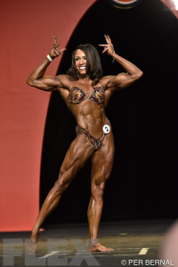Erica Blockman - Women's Physique - 2015 Olympia