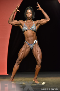 Dianne Brown - Women's Physique - 2015 Olympia