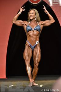 Gloria Faulls - Women's Physique - 2015 Olympia
