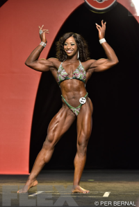 Sheronica Henton - Women's Physique - 2015 Olympia