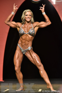 Leah Johnson - Women's Physique - 2015 Olympia
