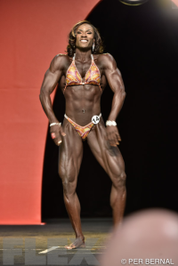 Candrea Judd-Adams - Women's Physique - 2015 Olympia