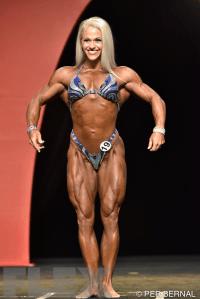 Kira Neuman - Women's Physique - 2015 Olympia