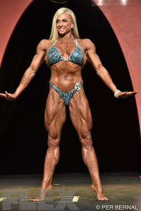Mindi O'Brien - Women's Physique - 2015 Olympia