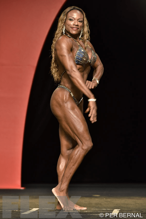 Leonie Rose - Women's Physique - 2015 Olympia