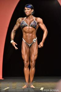 Mikaila Soto - Women's Physique - 2015 Olympia
