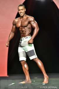 Andre Adams - Men's Physique - 2015 Olympia