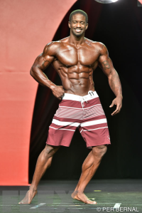 George Brown - Men's Physique - 2015 Olympia