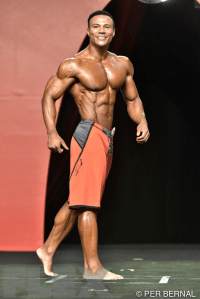 Earnest Flowers - Men's Physique - 2015 Olympia