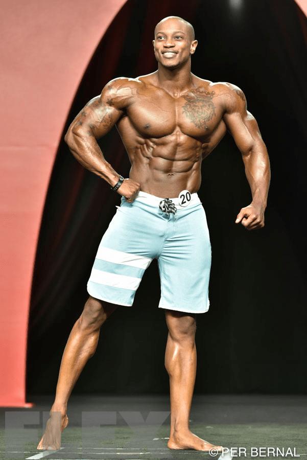 Brandon Hendrickson - Men's Physique - 2015 Olympia