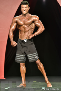 James Hurst - Men's Physique - 2015 Olympia