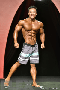 Joseph Lee - Men's Physique - 2015 Olympia