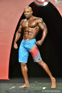 Jacques Lewis - Men's Physique - 2015 Olympia