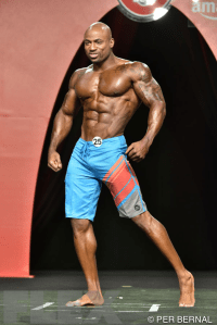 Jacques Lewis - Men's Physique - 2015 Olympia