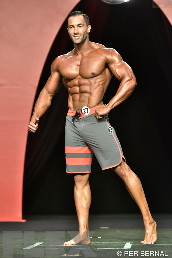Frank Ortega - Men's Physique - 2015 Olympia