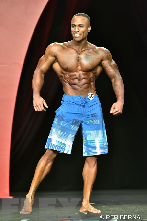 Tonnell Rodrigue - Men's Physique - 2015 Olympia