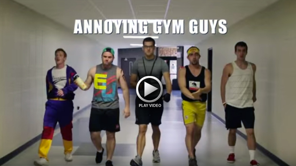Don't Be That Guy at the Gym