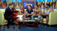 Juan Morel, Sadik Hadzovic & Juliana Malacarne on Good Day New York