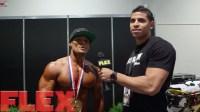 2015 Olympia Men's Physique Showdown Champ, Jeremy Buendia