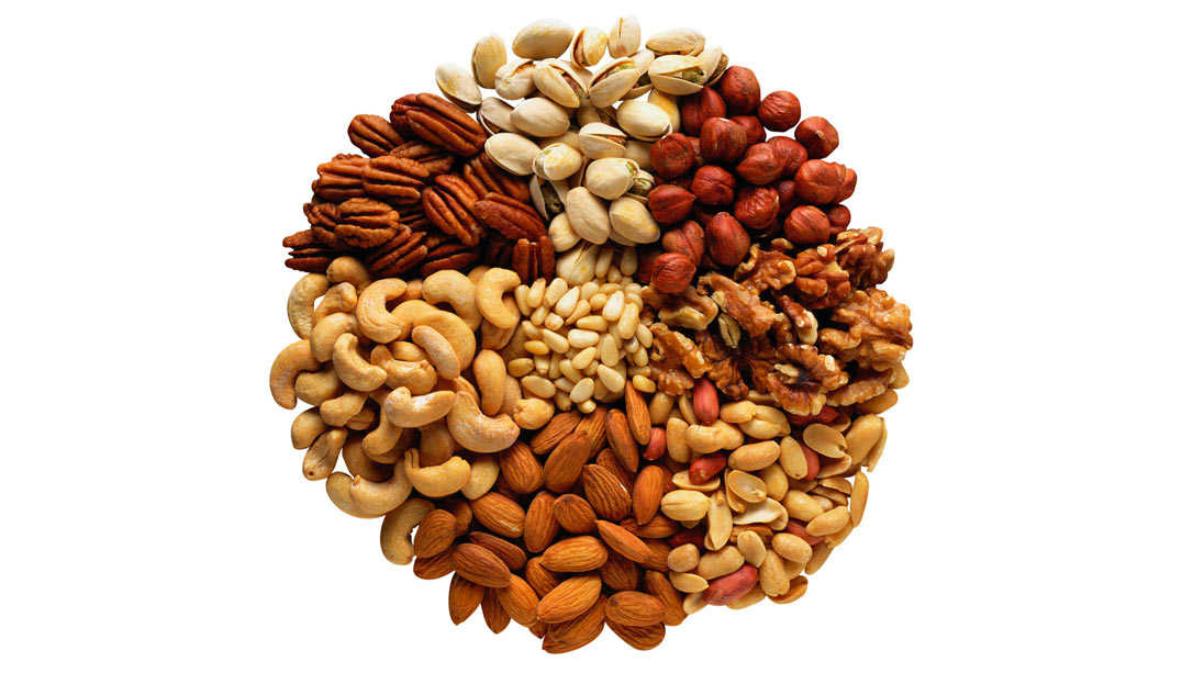 muscle building food nuts