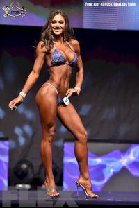 Janet Layug - Bikini - 2015 EVLS Prague Pro