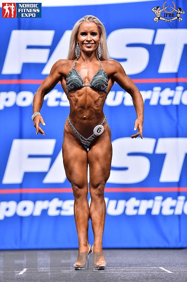 Piia Pajunen- Fitness - 2015 IFBB Nordic Pro