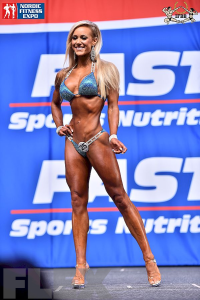 Sara Back - Bikini - 2015 IFBB Nordic Pro