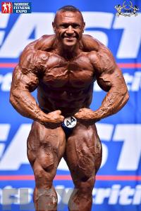 Kiss Jeno - Men's Open Bodybuilding - 2015 IFBB Nordic Pro