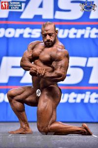Anwar Elsayed - Men's Open Bodybuilding - 2015 IFBB Nordic Pro