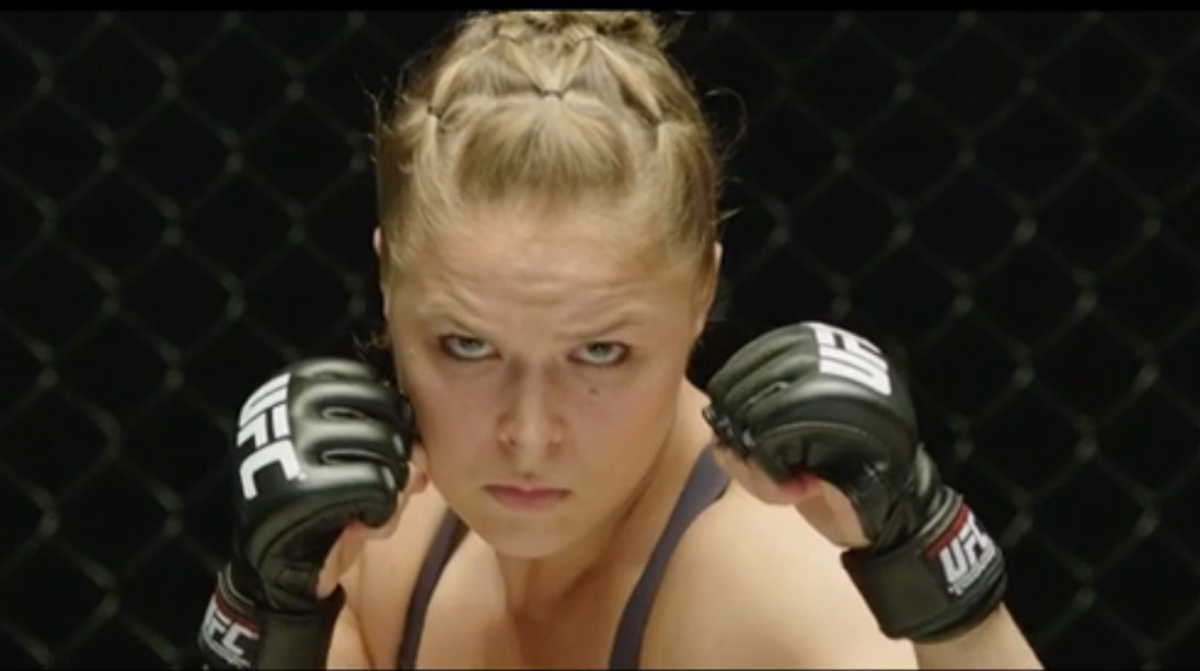 Ronda Rousey was Born to Fight