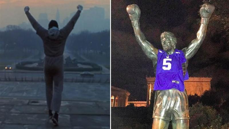 Stallone Statue