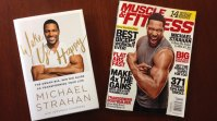M&F Cover Star Michael Strahan's New Book 'Wake Up Happy' is Out