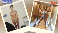 Woman Battles Eating Disorders to Become a Champion Bodybuilder