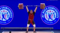 Aleksey Lovchev Breaks Record at the IWF World Championships