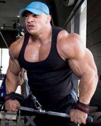 big-ramy-triceps-pushdowns