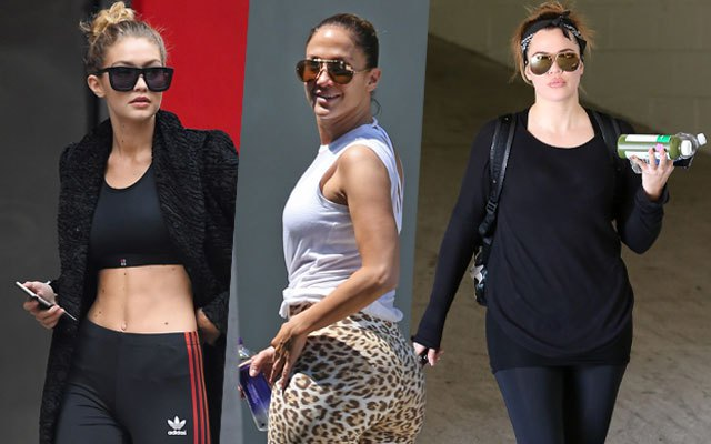 Celebs Wearing Fitness Clothes We Want to Steal!