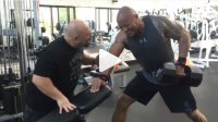 The Rock and Hany Rambod Killing it in Gym