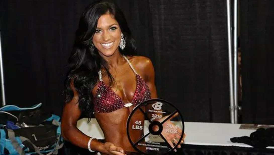 High School Janitor Is An IFBB Bikini Pro