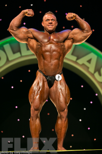 Justin Compton - Open Bodybuilding - 2016 Arnold Classic Australia