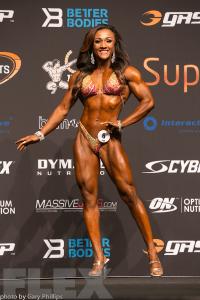 Tanji Johnson - Fitness - 2016 Arnold Classic Australia