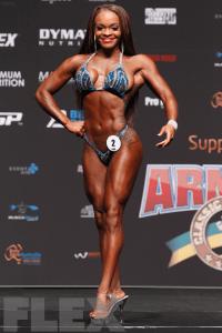Andrea Calhoun - Figure - 2016 Arnold Classic Australia
