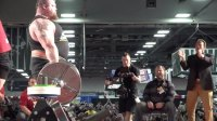 Eddie Hall Sets World Record With 1,025-Pound Deadlift