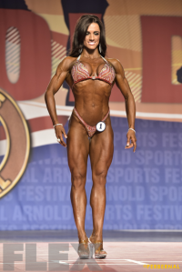 Heather Dees - Figure International - 2016 Arnold Classic