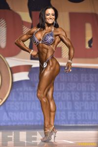 Camala Rodriguez McClure - Figure International - 2016 Arnold Classic