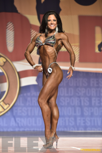 Julie Mayer - Figure International - 2016 Arnold Classic