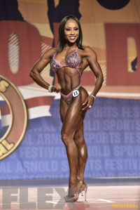 Latorya Watts - Figure International - 2016 Arnold Classic