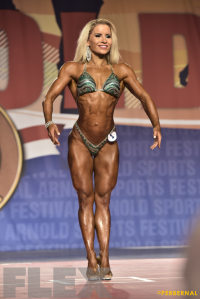 Piia Pajunen - Fitness International - 2016 Arnold Classic