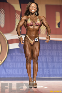 Tanji Johnson - Fitness International - 2016 Arnold Classic