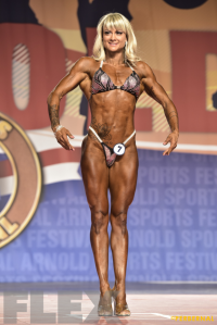 Giorgia Foroni - Fitness International - 2016 Arnold Classic